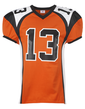 1355 Adult Red Zone Steelmesh Football Jersey