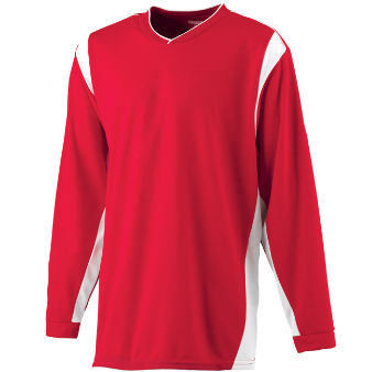 STYLE 4600 - WICKING LONG SLEEVE WARMUP SHIRT