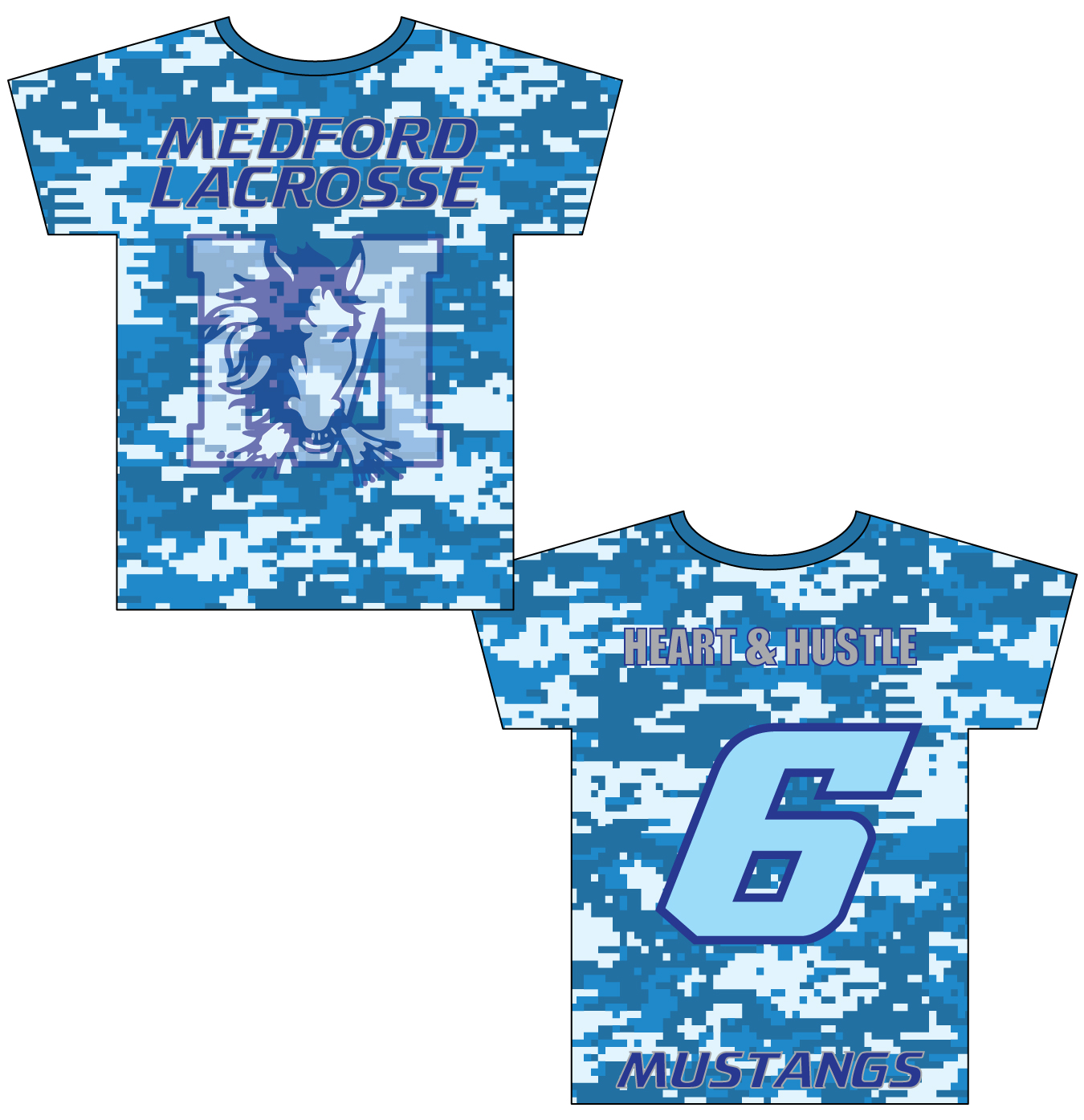 Sublimated Shooter Shirt - Medford