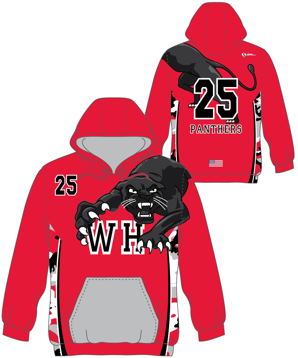 Custom Sublimated Hoodie - WH Panthers