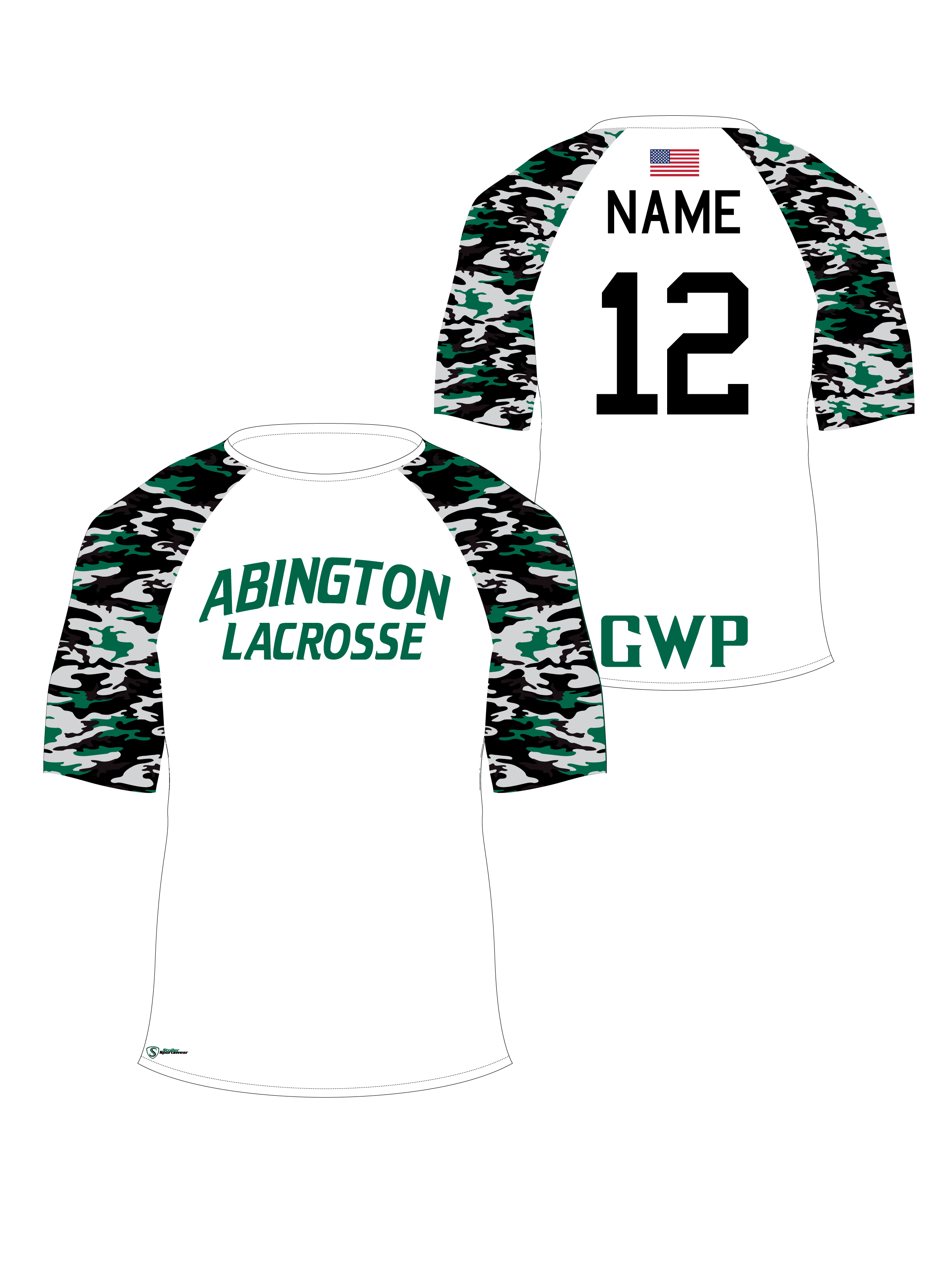 Sublimated Shooter Shirt - Abington