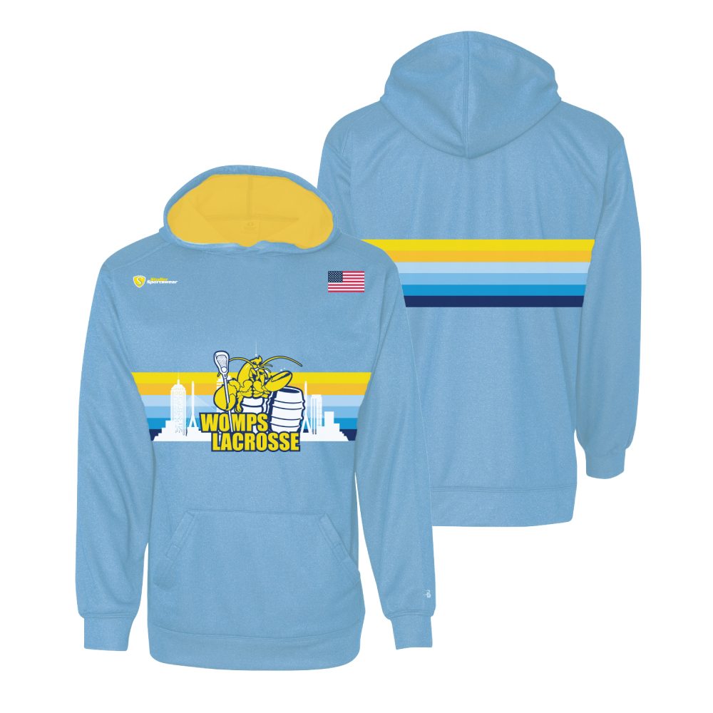 Custom Sublimated Hoodie - Wamps