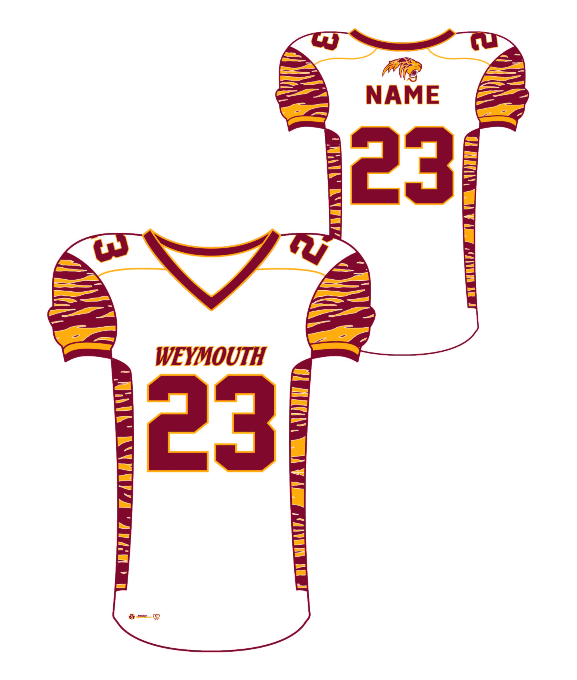 Sublimated Jersey - Weymouth White