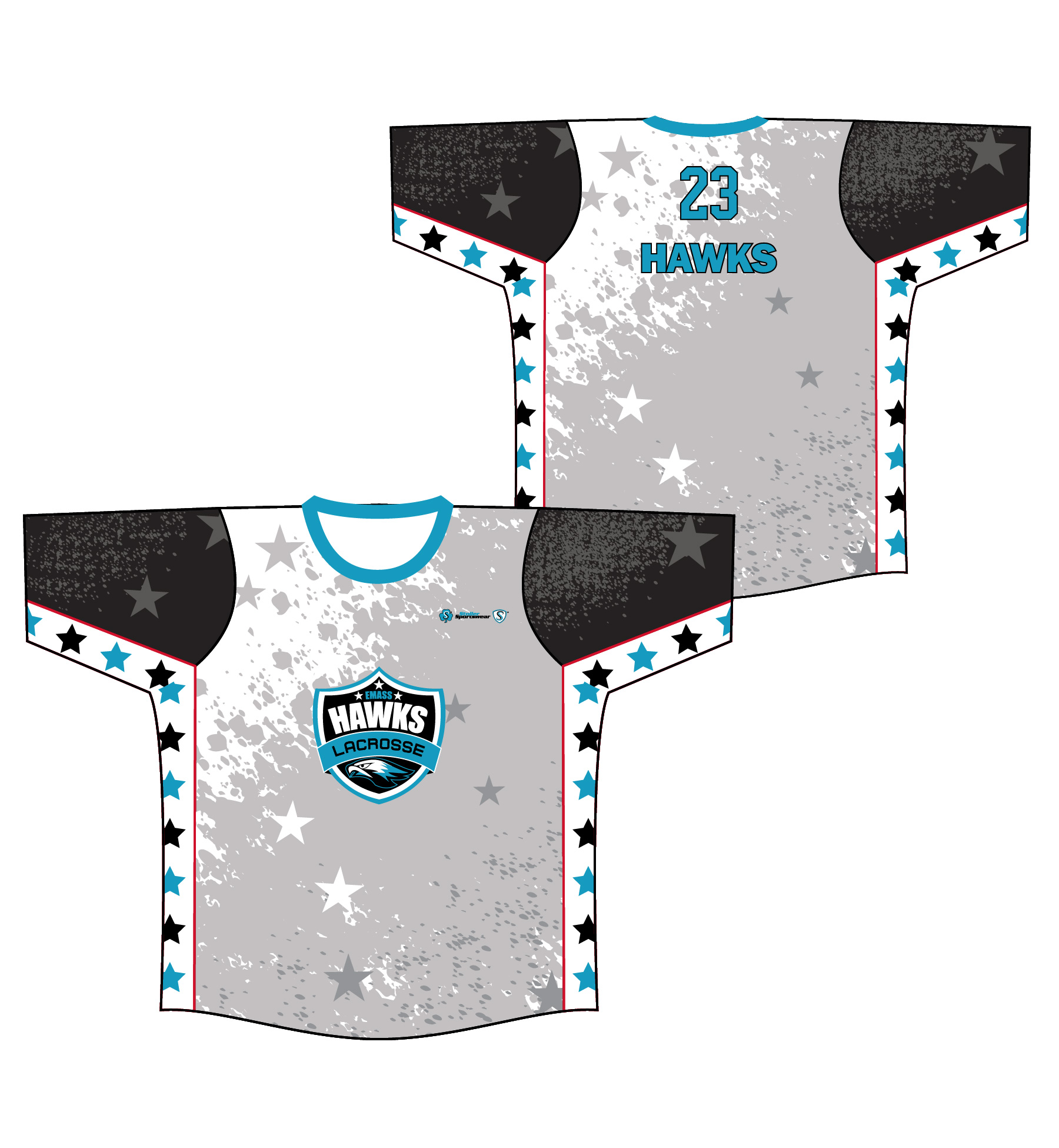 Sublimated Shooter Shirt - Emass Hawks