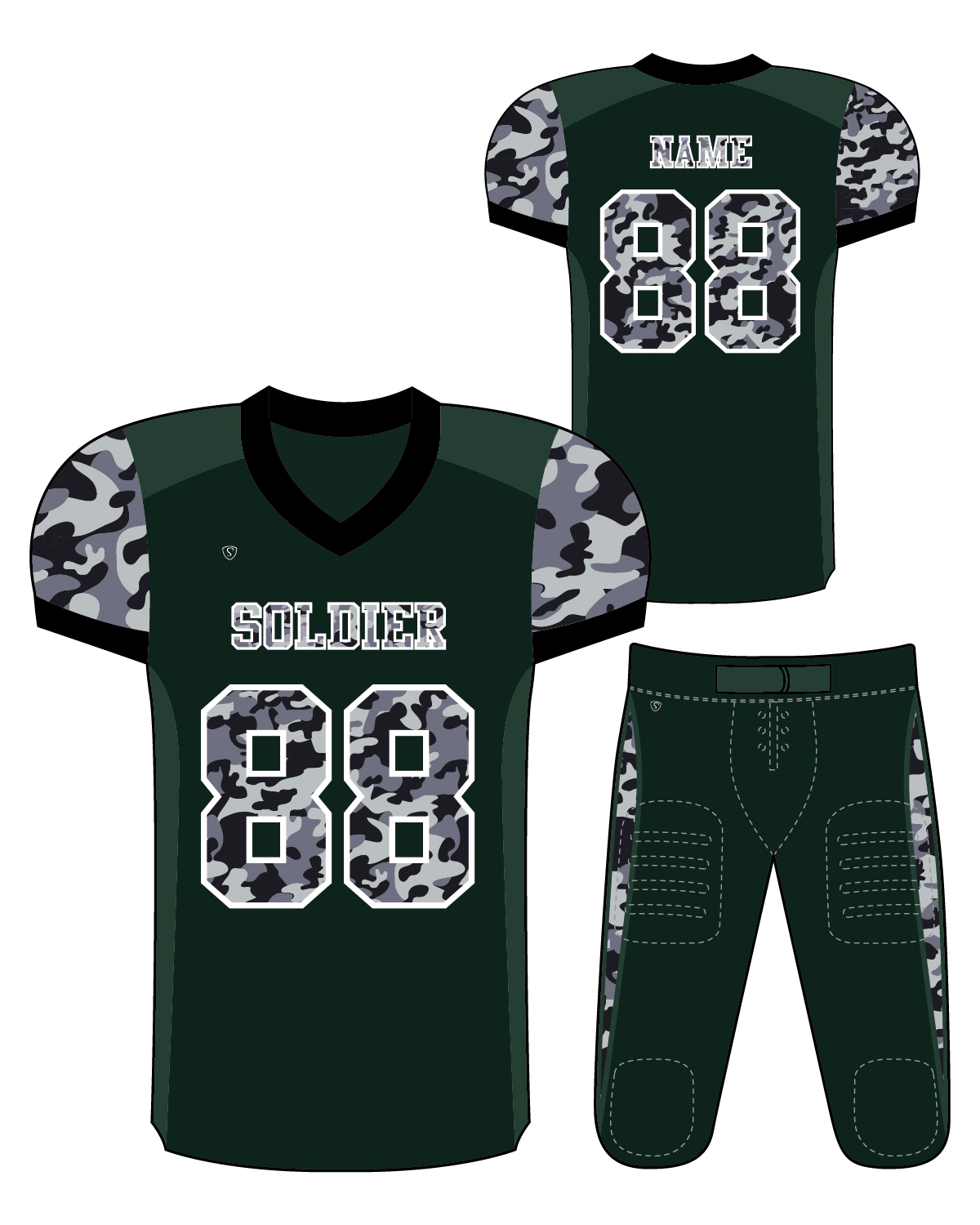 Sublimated Jersey - Soldier