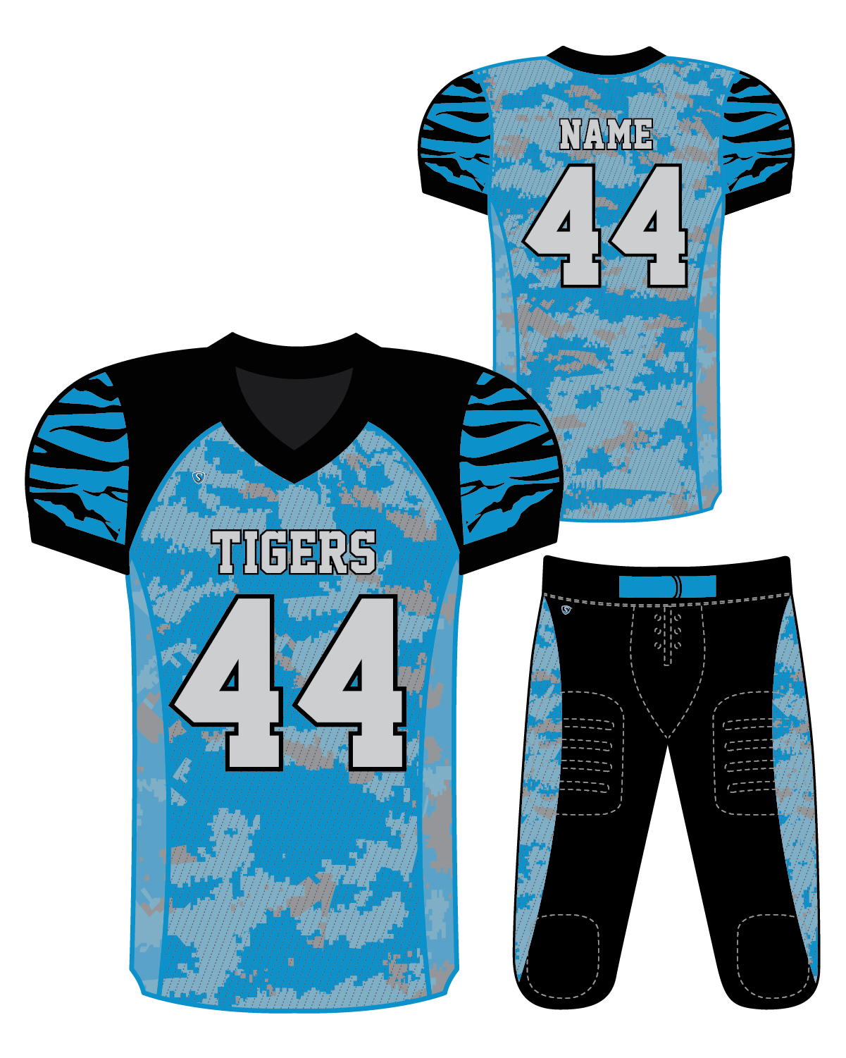 Sublimated Jersey - Tigers