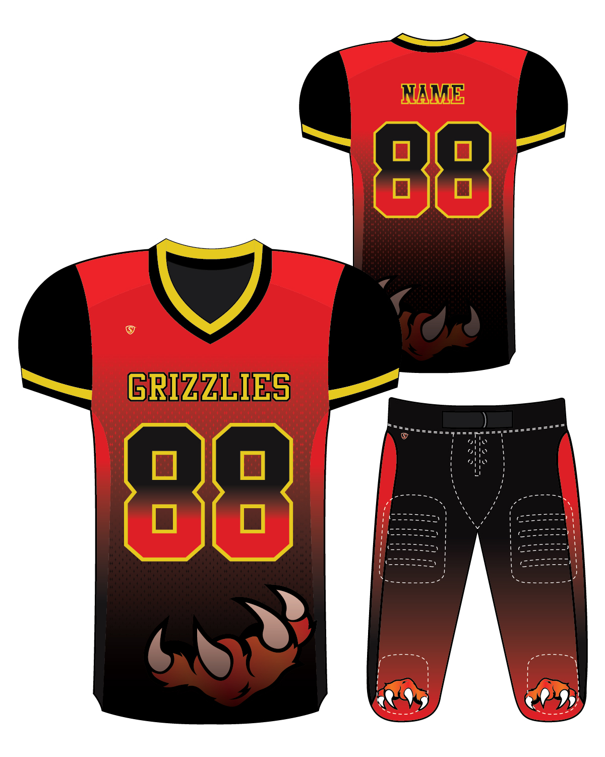 Sublimated Jersey - Grizzlies