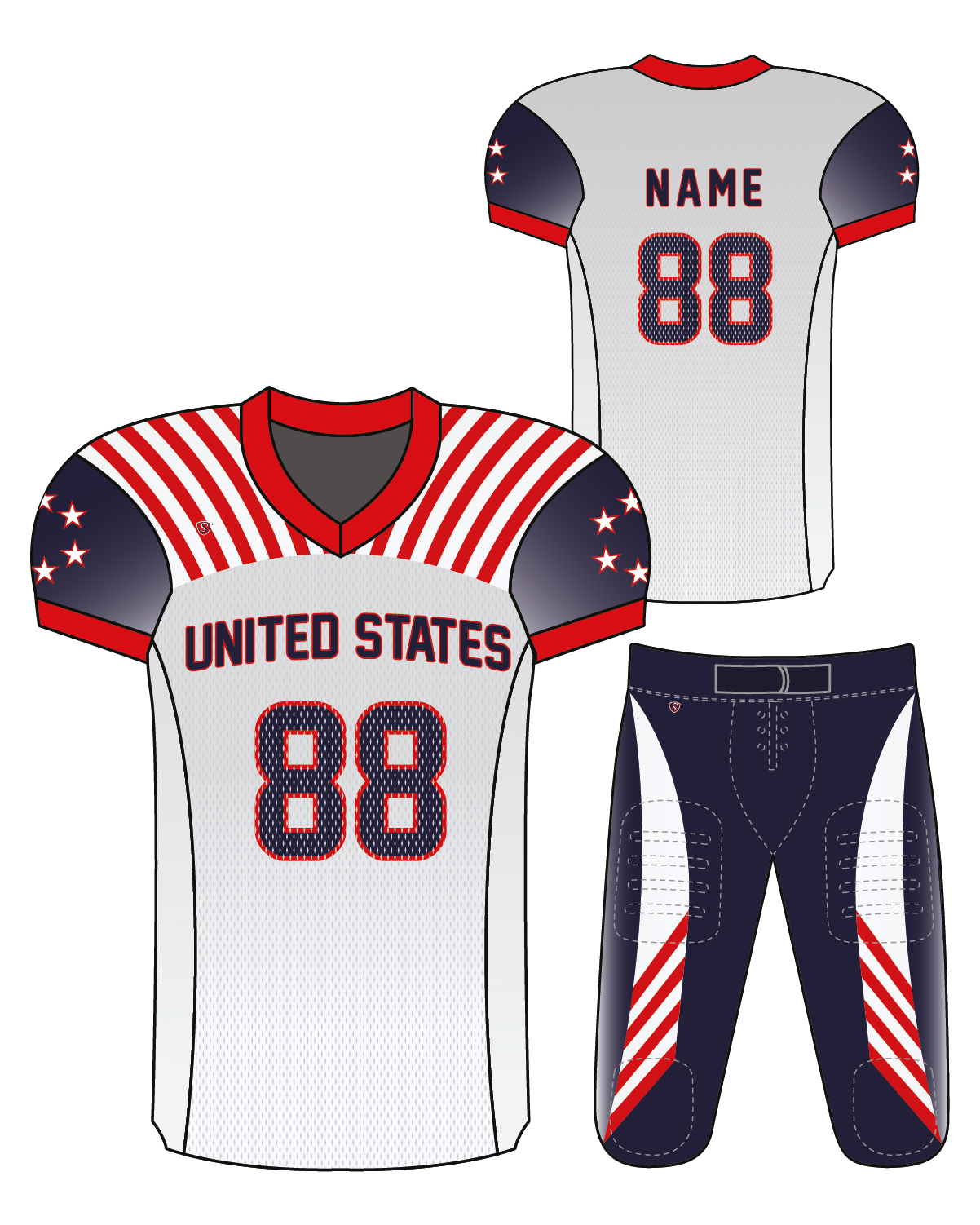 Sublimated Jersey - United States