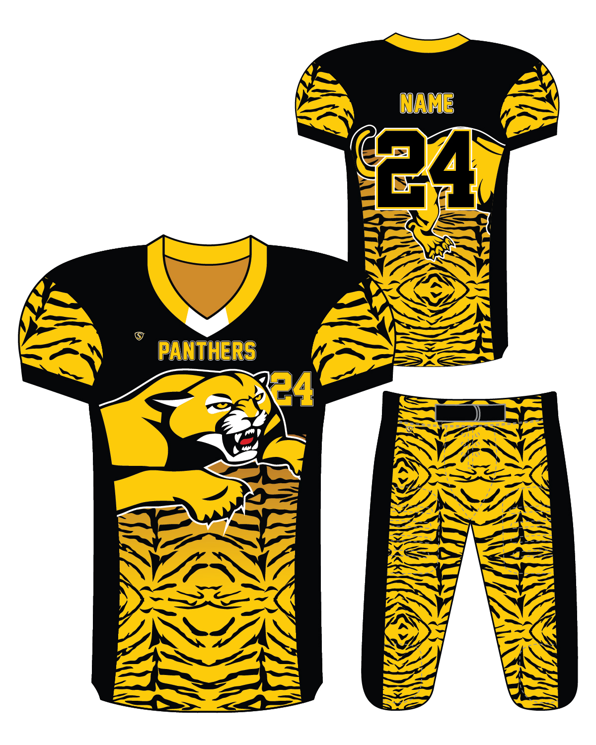 Sublimated Jersey - Panthers