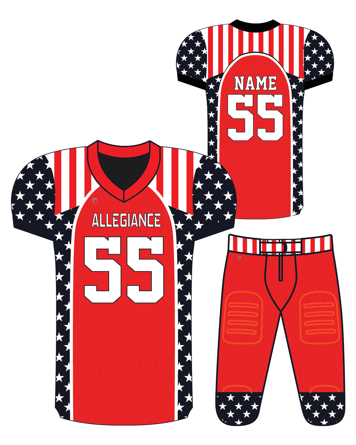Sublimated Jersey - Allegiance