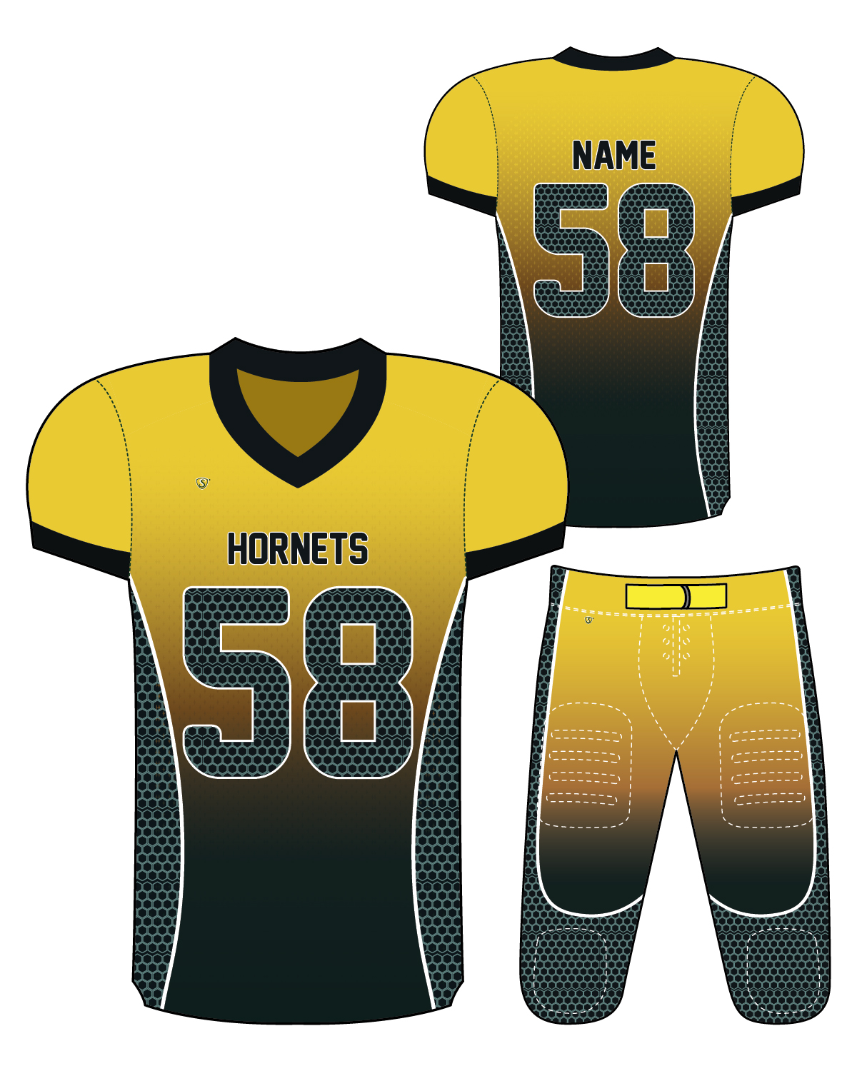 Sublimated Jersey - Hornets