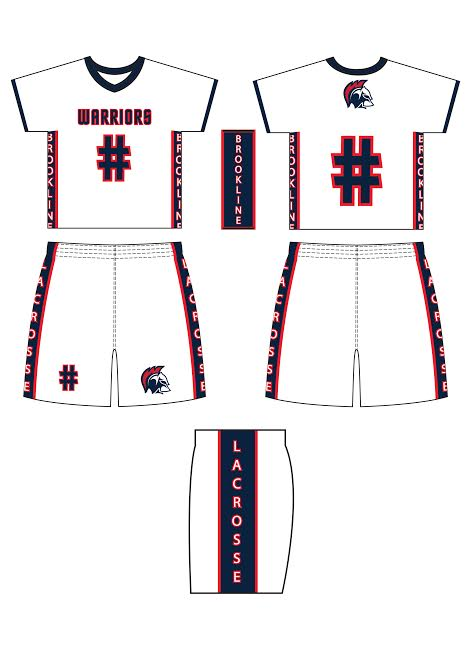 Sublimated Uniform - Brookline 2