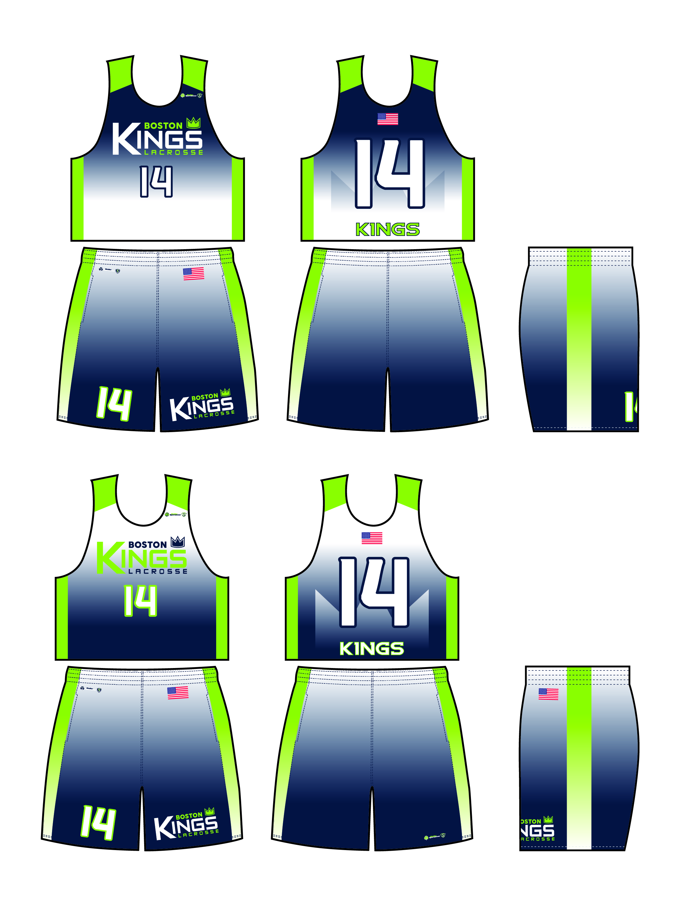 Sublimated Uniform - Boston Kings 8