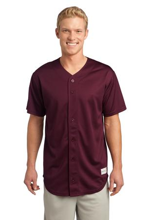 Style ST 220 - Sport-Tek PosiCharge Tough Mesh Full-Button Jersey