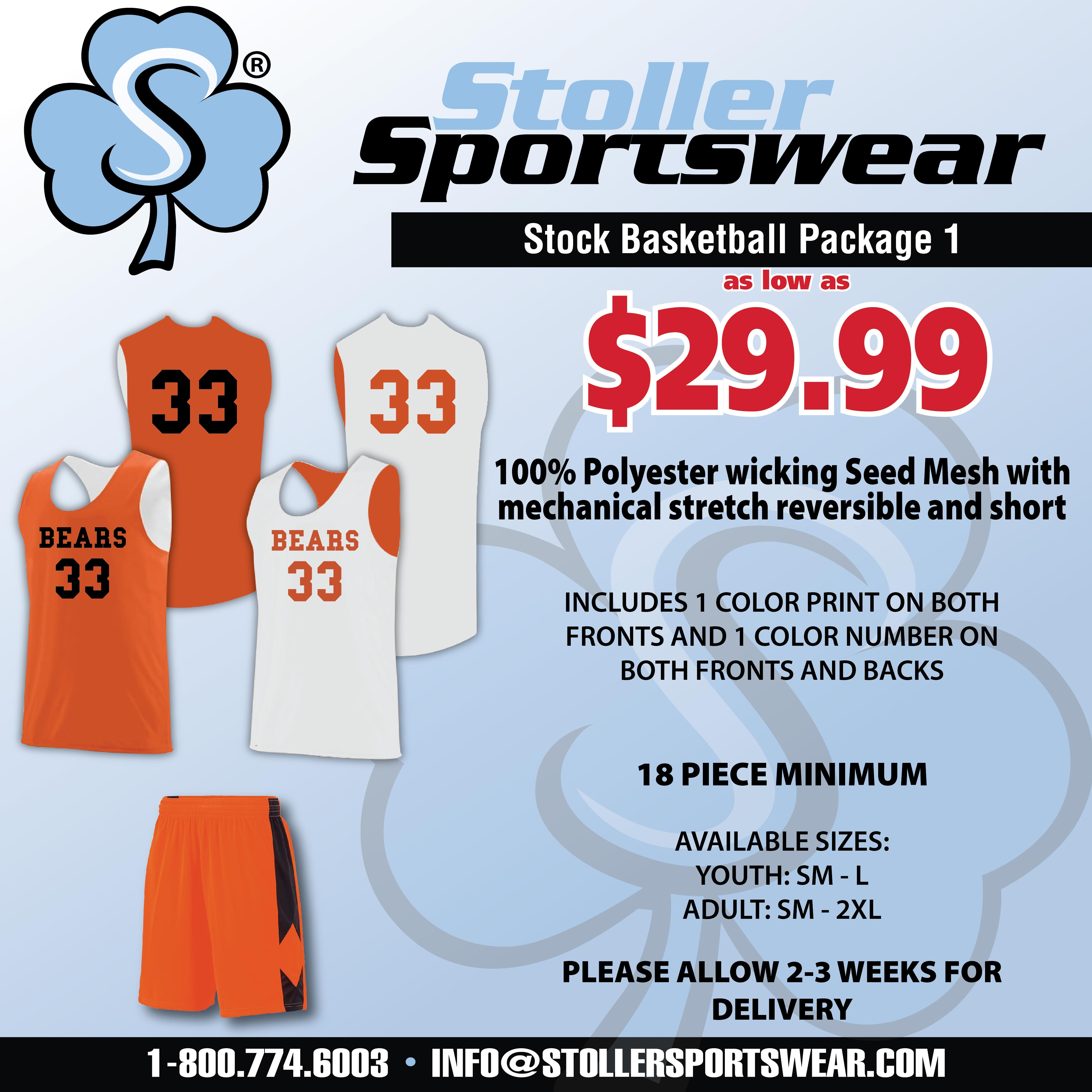Stock Basketball Package 1