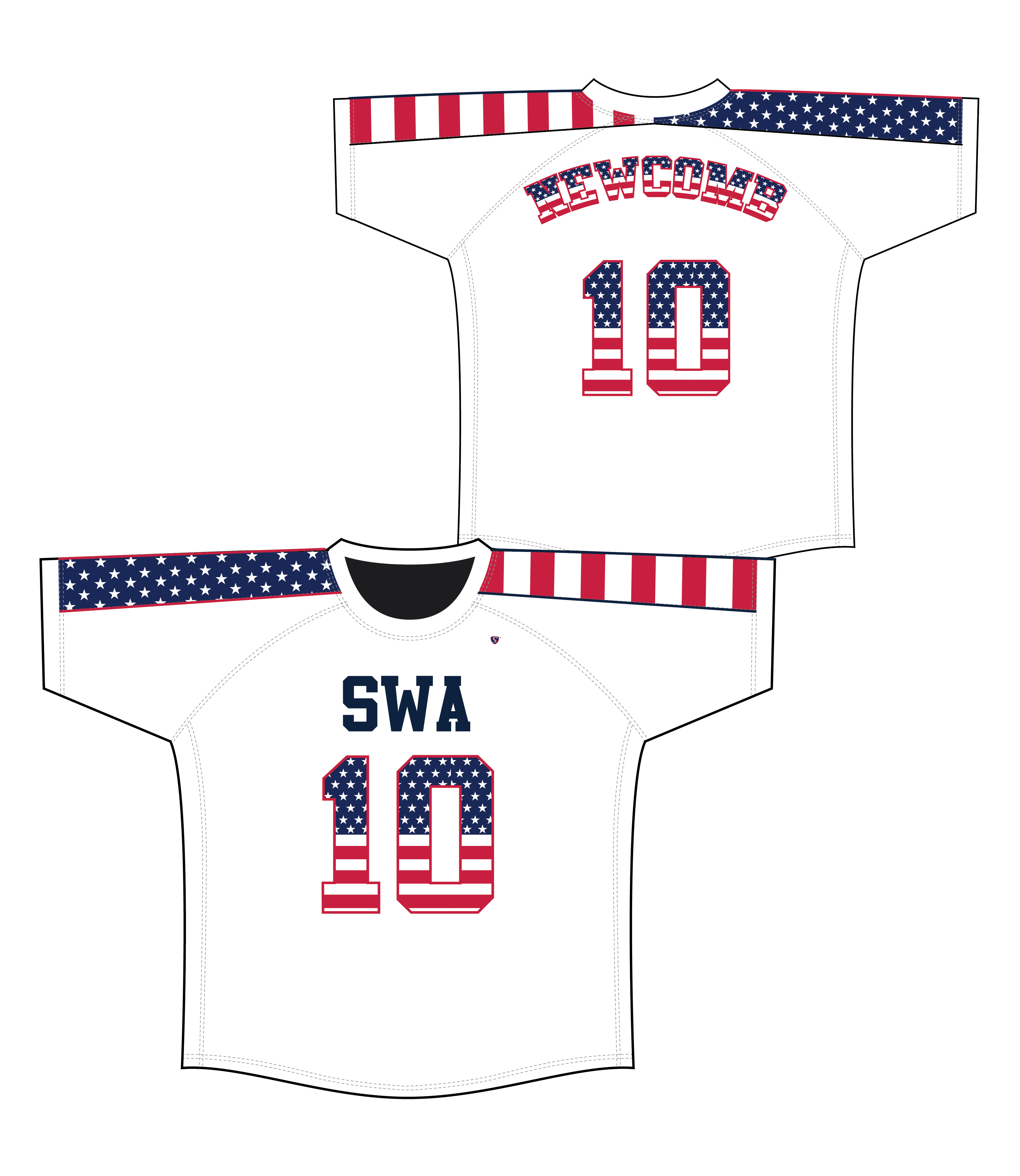 SWA Sublimated Jersey