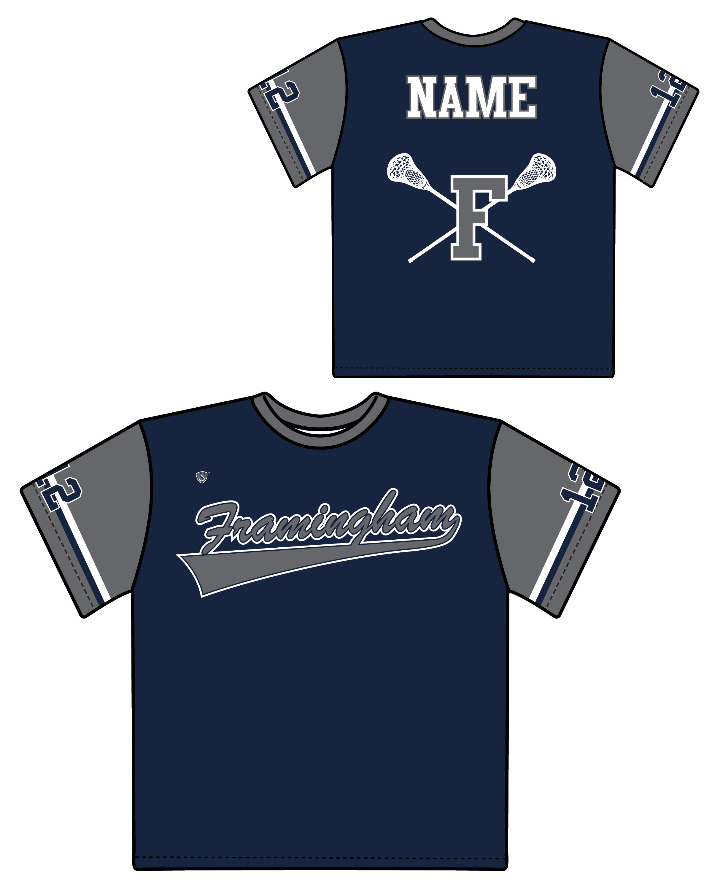 Custom Sublimated Shooter Shirt - Framingham