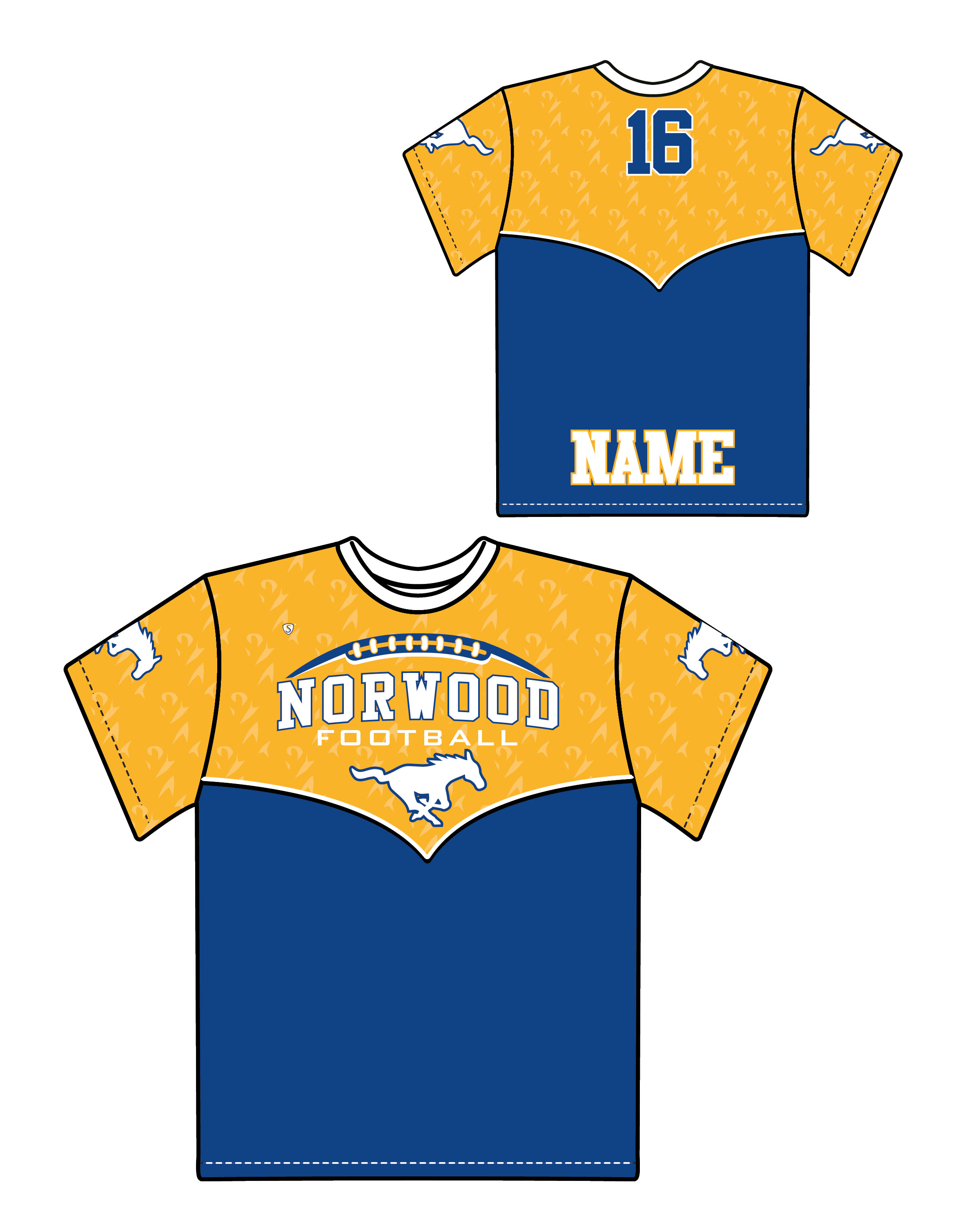 Custom Sublimated Shooter Shirt - Norwood