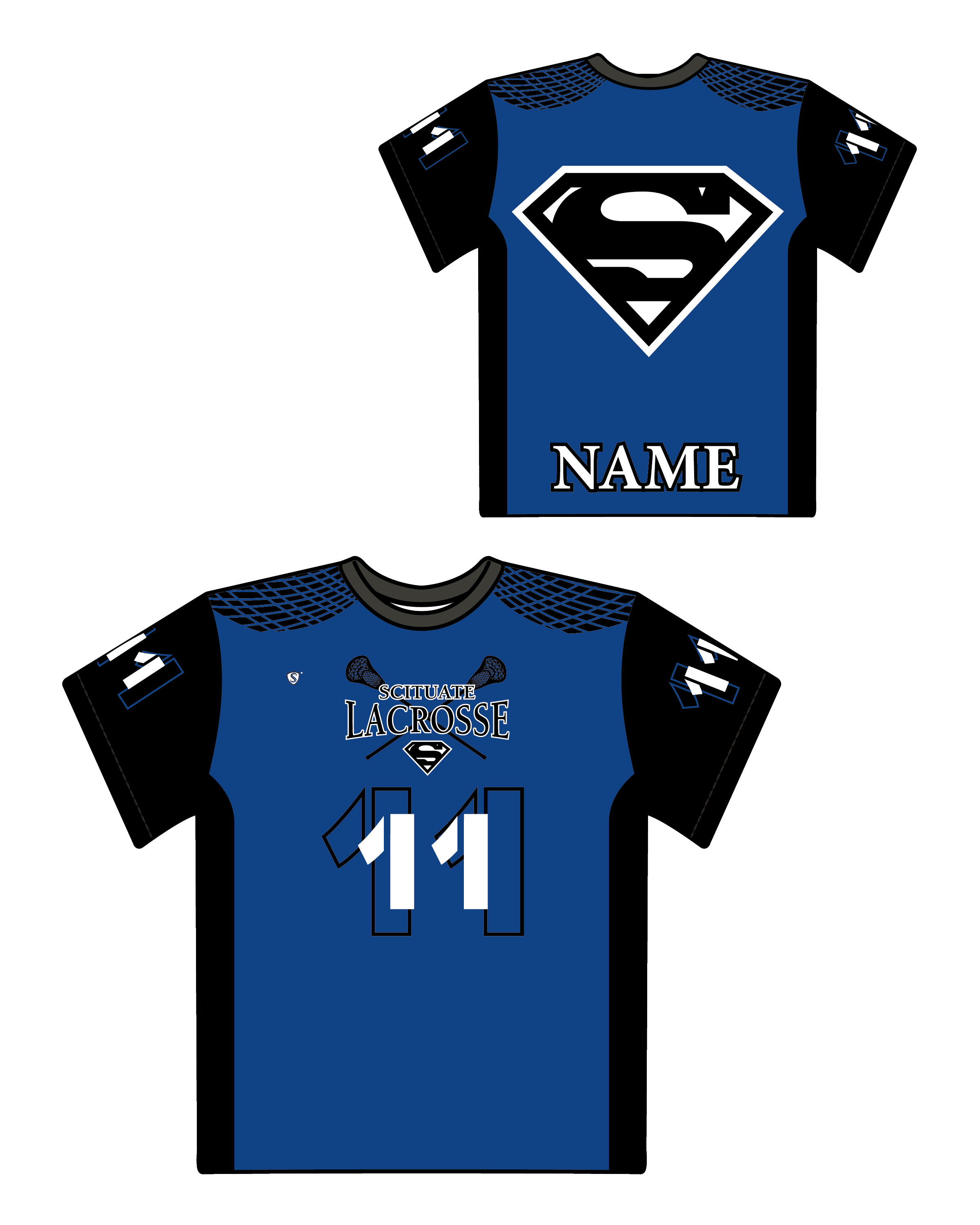 Custom Sublimated Shooter Shirt - Scituate