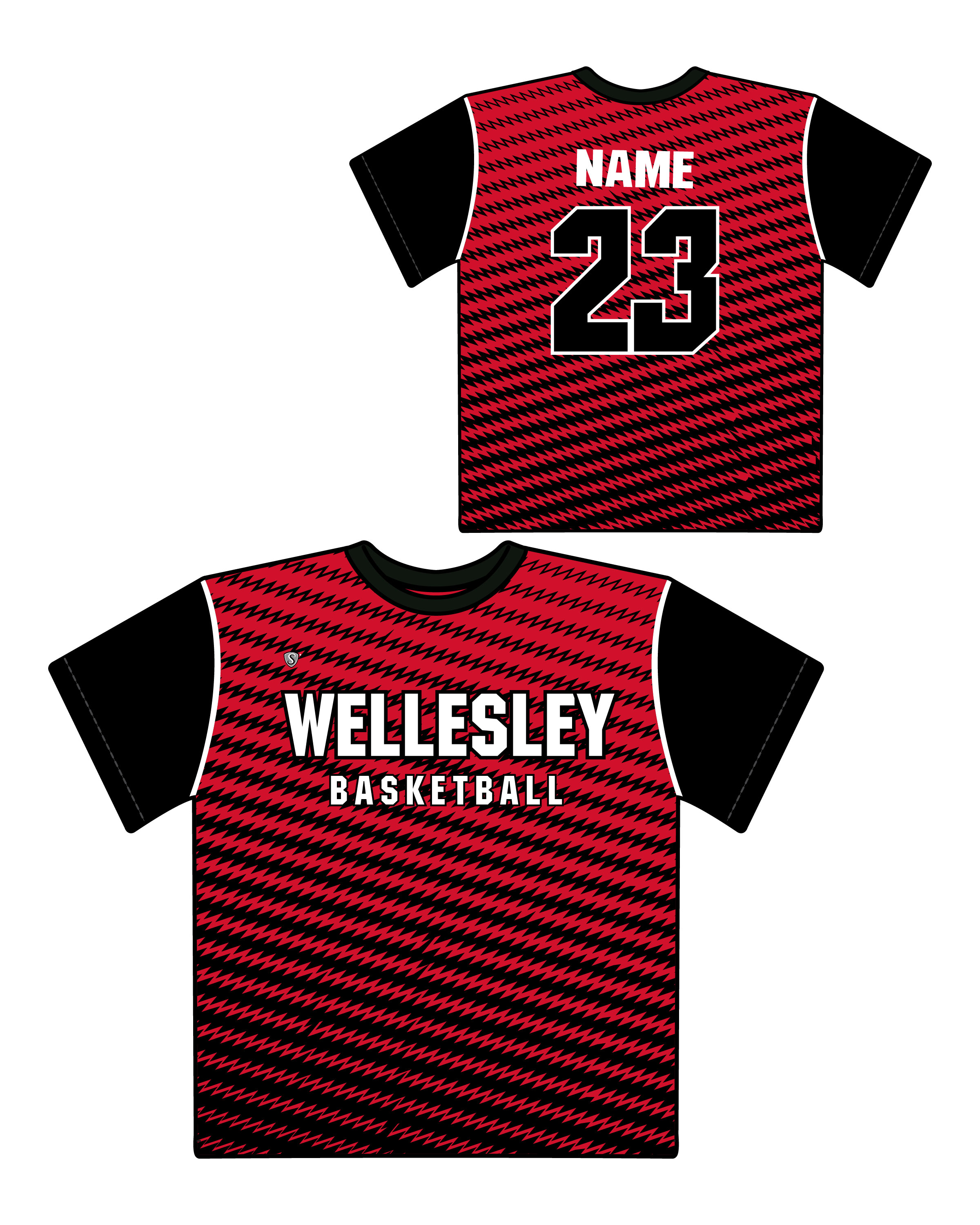 Custom Sublimated Shooter Shirt - Wellesley 3