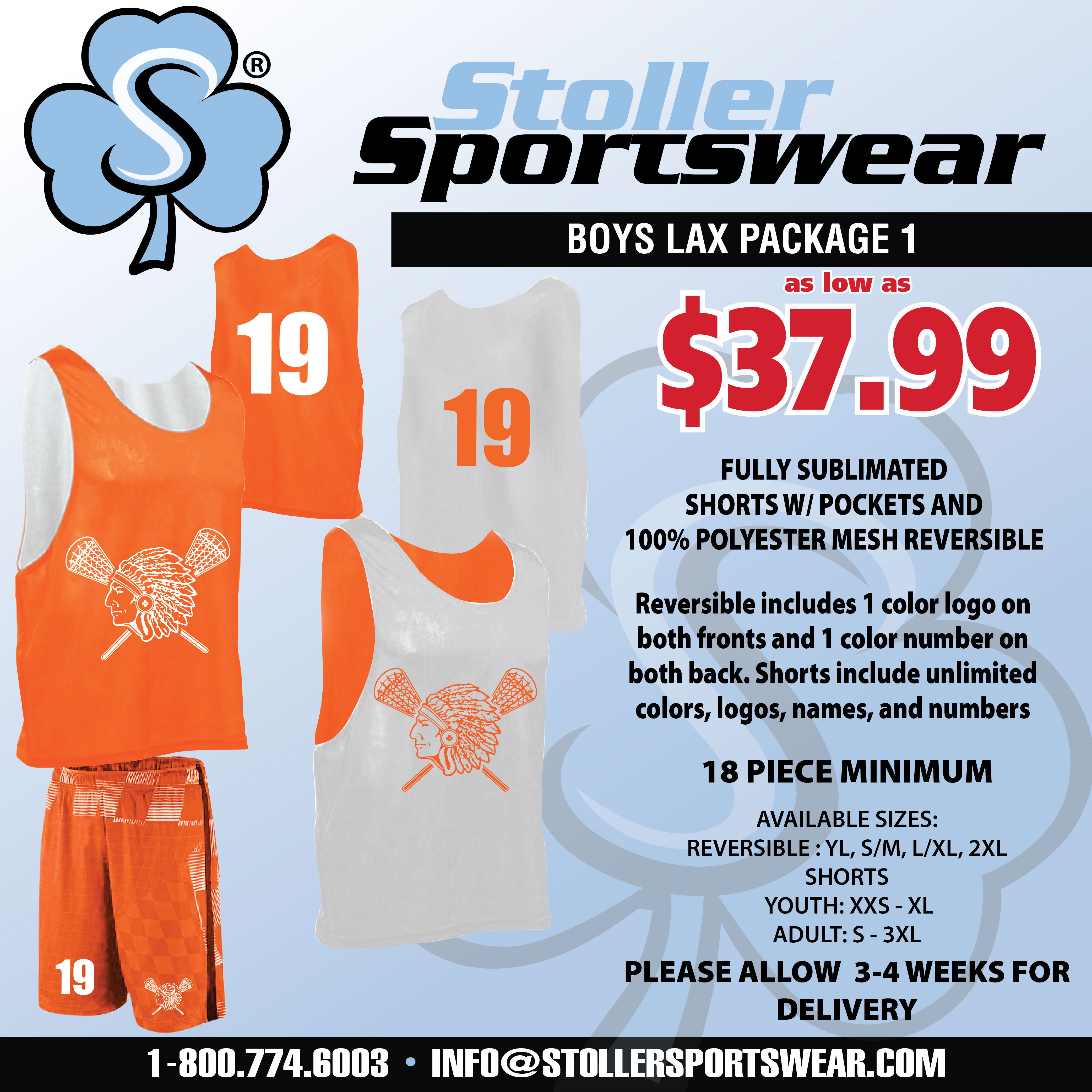 Boys Lax Mix & Match Package 1