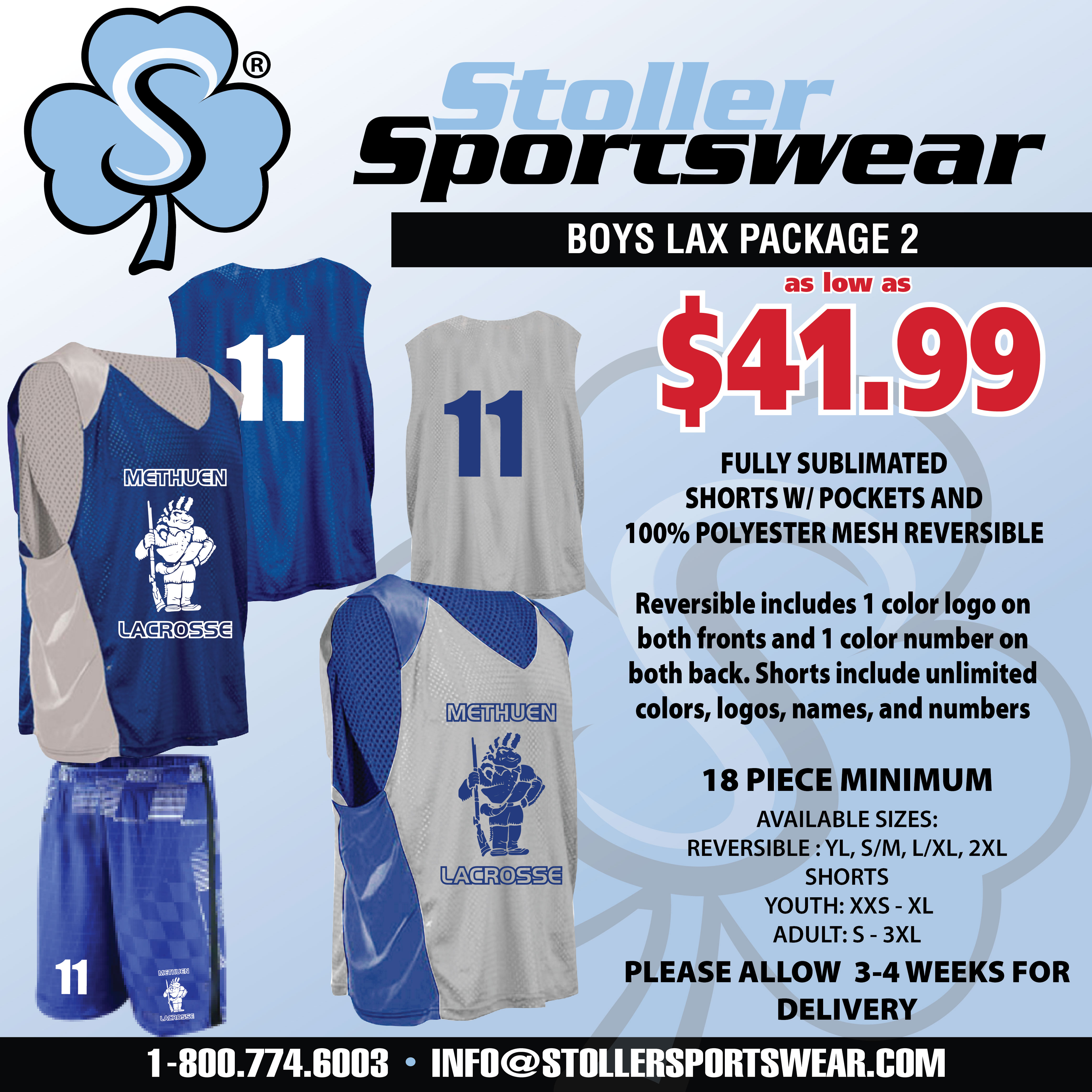 Boys Lax Mix & Match Package 2