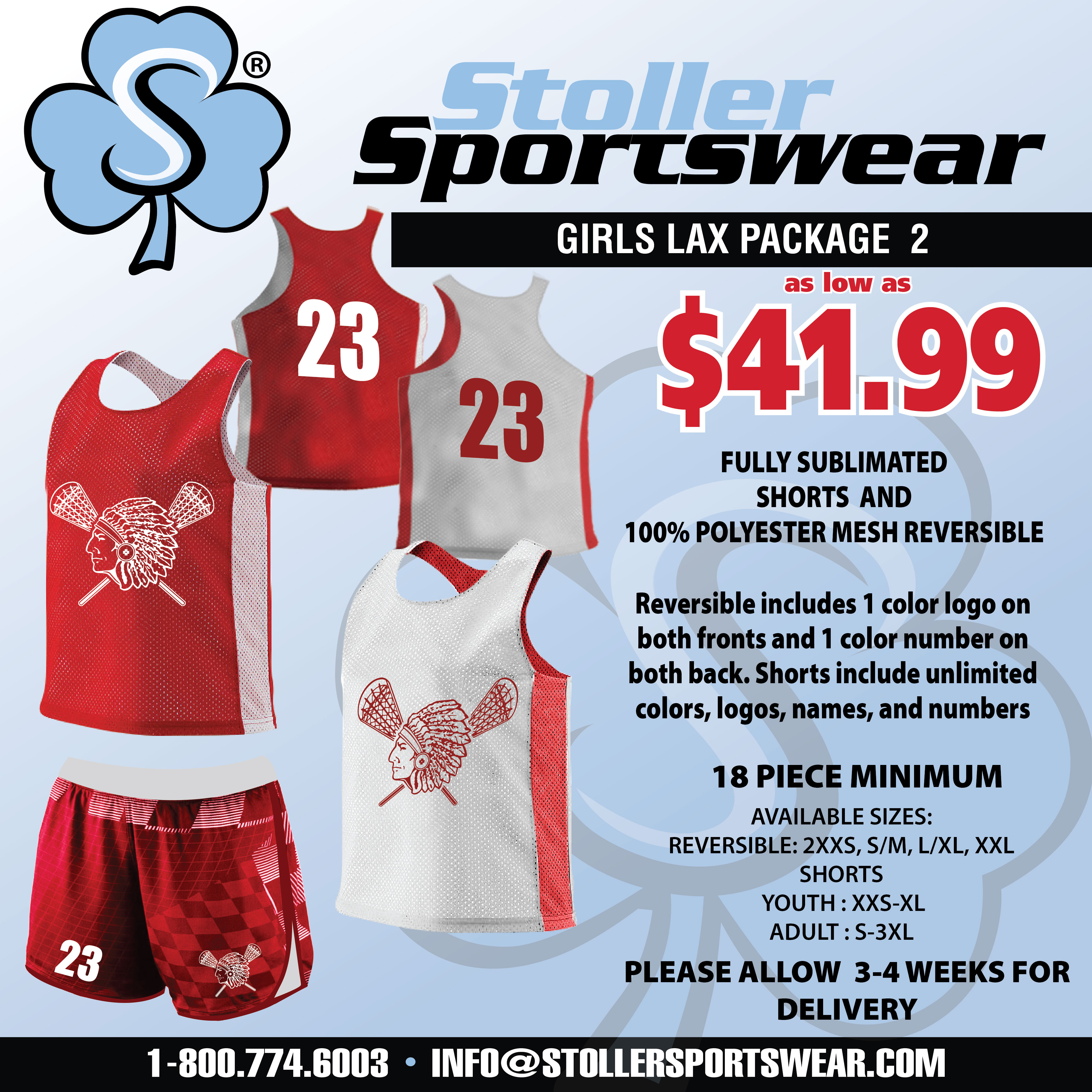 Girls Lax Mix & Match Package 2