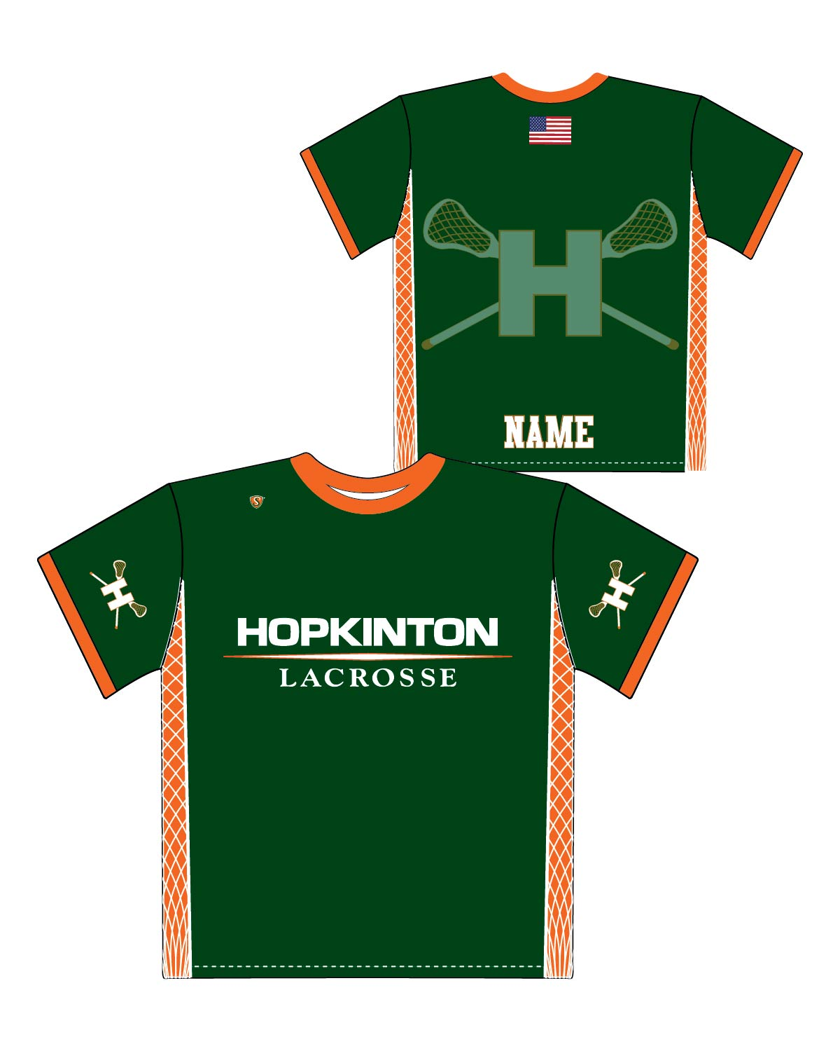 Custom Sublimated Shooter Shirt - Hopkinton