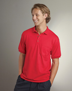 G890 Gildan 5.6 oz. DryBlend 50/50 Jersey Polo with Pocket